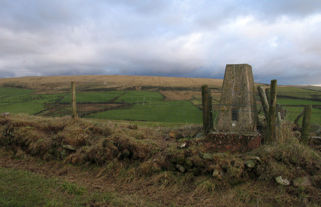 Trig point of Haile