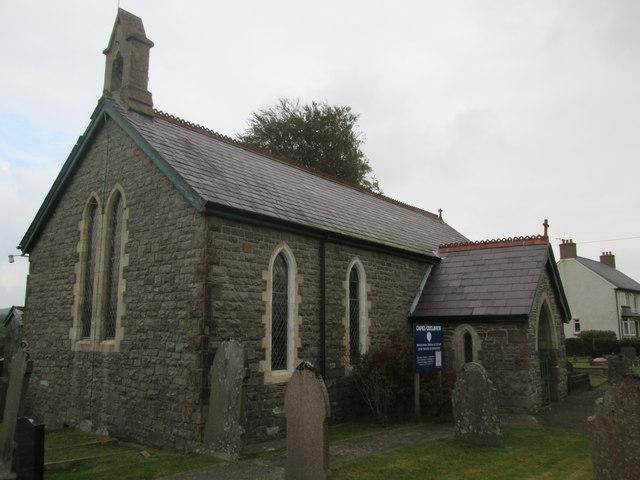 Coelbren Church