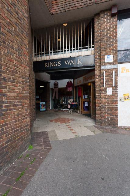 King's Walk shopping arcade
