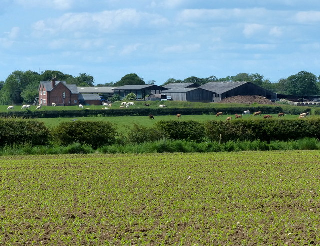College Farm viewed from the Fosse Way