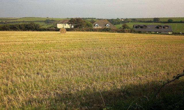 Field and houses, Parker's Cross