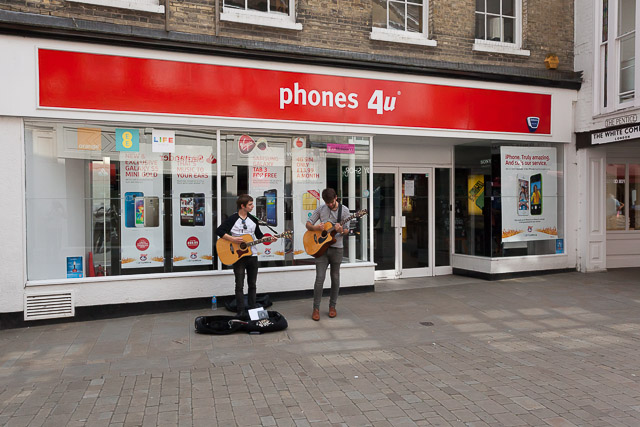 Winchester Phones4u shop