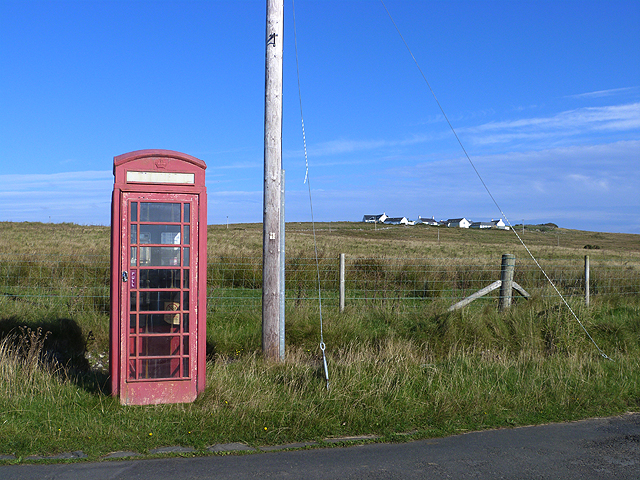 Isolated phone box