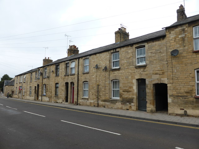 Terraced houses in Whare Road