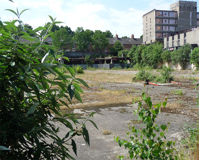 Derelict land, Colyear Street, Derby