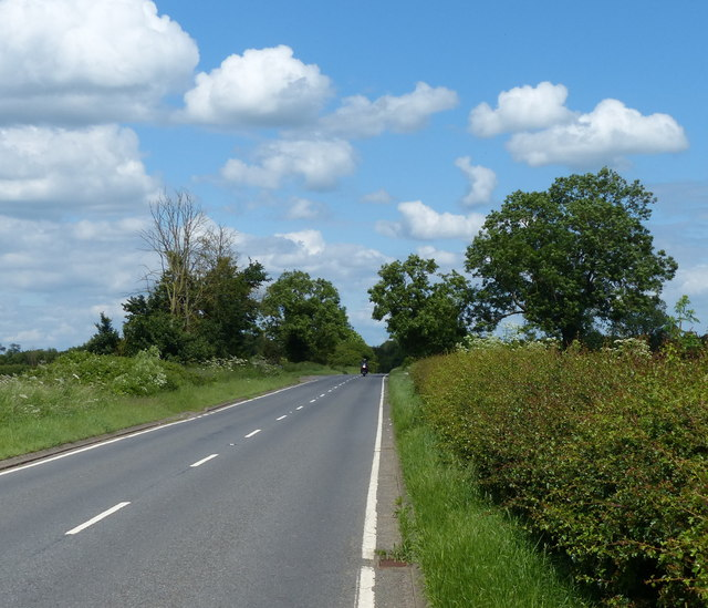 North along the B4455 Fosse Way