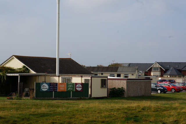 Buildings at Rhyl Golf Club
