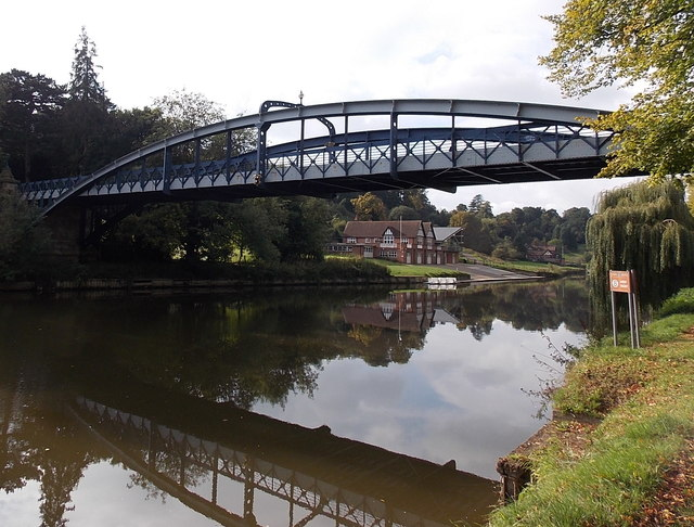 Kingsland Bridge, Shrewsbury