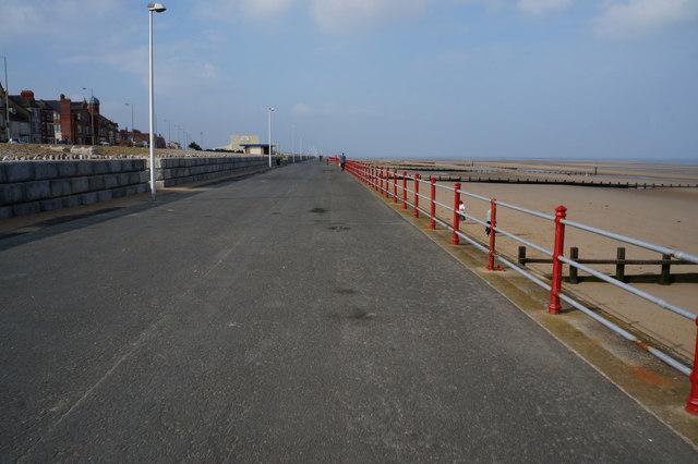 Wales  Coast Path at Rhyl
