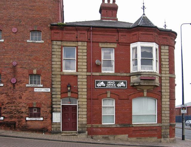 Hartlepool - Cameron's Lion Brewery - head office