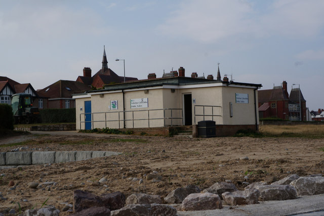 Public toilets on the Promenade, Rhyl