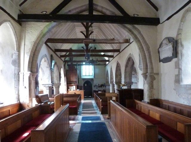 The Chancel and Nave, Yapton parish church