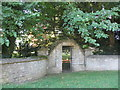 SP5831 : Gateway at Cottisford House by Jonathan Thacker