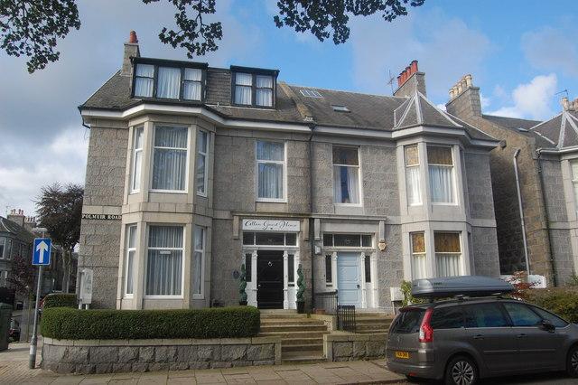 Granite villas, Polmuir Road, Aberdeen
