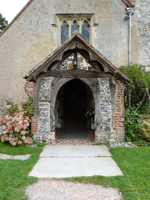 Entrance to Church of St. Mary the Virgin, Yapton