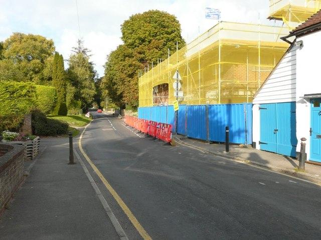 Demolition of former ironmongers, Faversham Road
