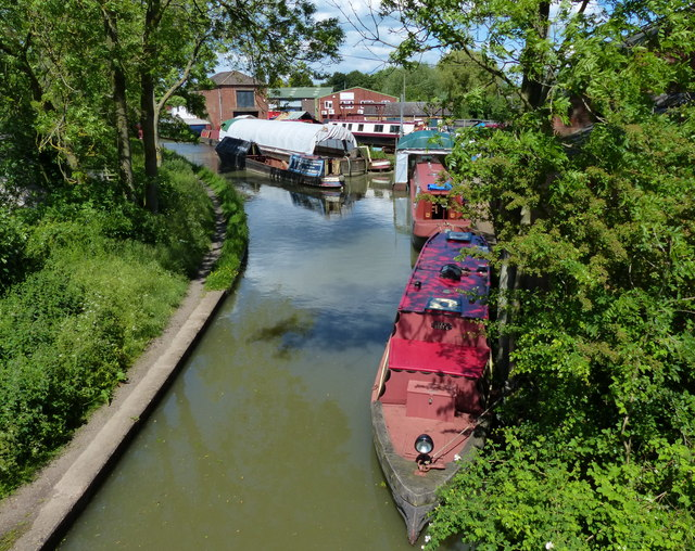 Stretton Arm of the Oxford Canal