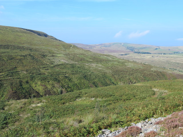 Moorland around the cleugh of Howgill Beck