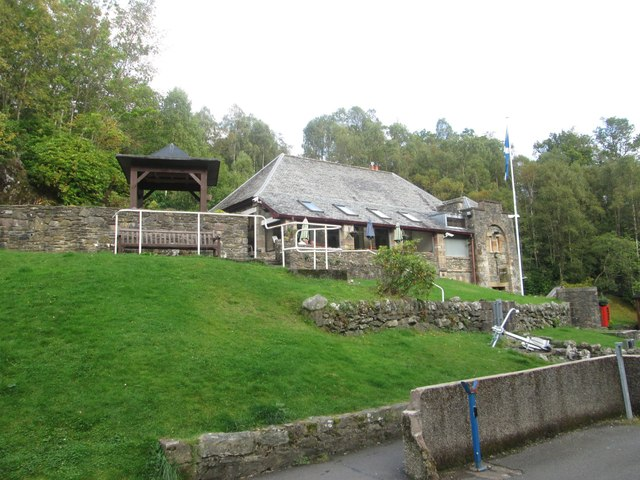The restaurant at the Loch Katrine pier