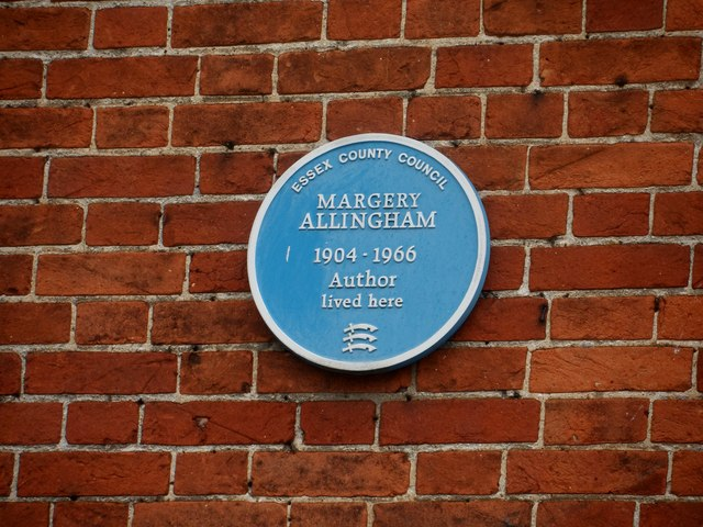 Blue plaque for Margery Allingham