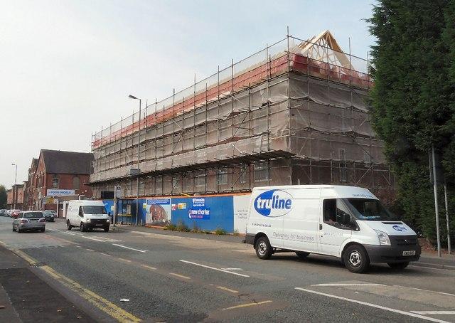 New housing on Katherine Street