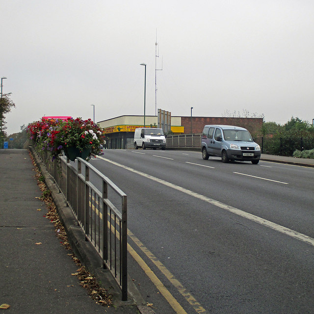 Wollaton Road: the site of Radford Station