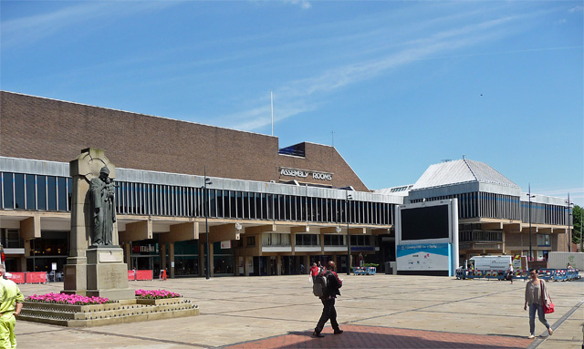 Assembly Rooms, Market Place, Derby
