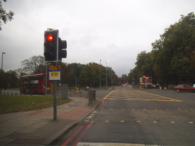 The North Circular junction with Uxbridge Road