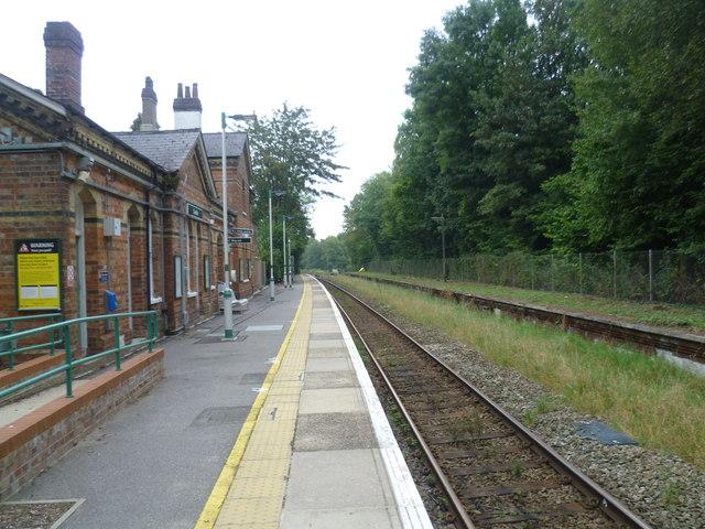 Cowden station