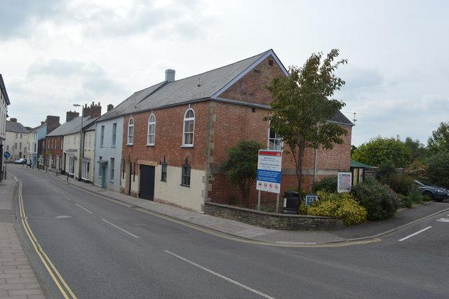 Former drill hall - Chard Street