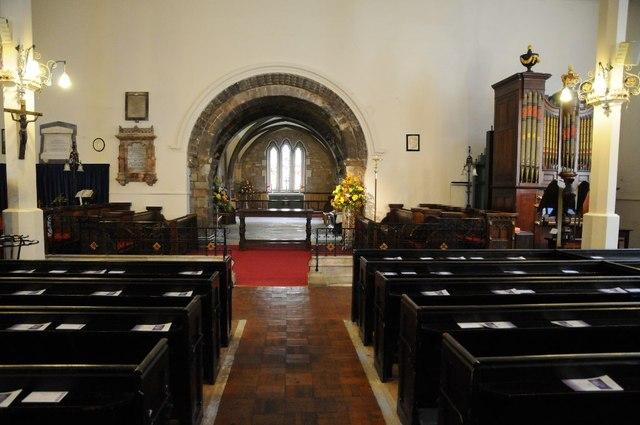 Interior of St Mary de Lode