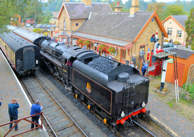 Severn Valley Autumn Gala 2014 at Arley