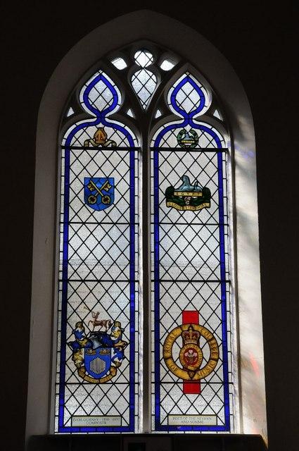 Window dedicated to Ivor Gurney