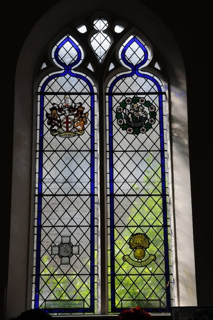 Window dedicated to Captain Robert Nairac GC