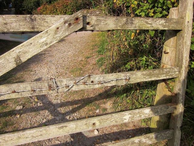 Gate, Porthallow