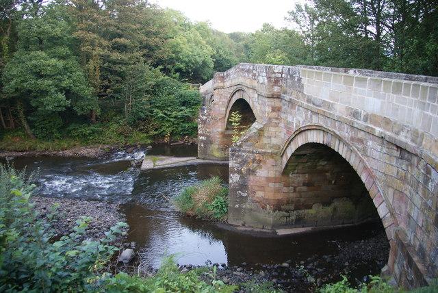 Bridge over the Esk at Grosmont