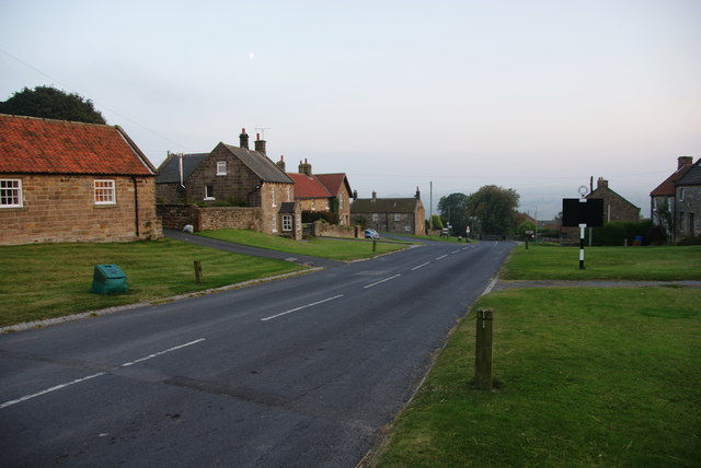 The main street in Egton