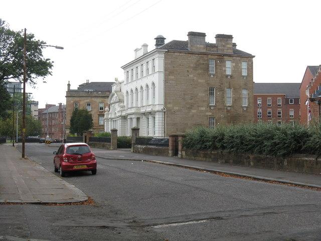 A splendid building on Greenhead Street