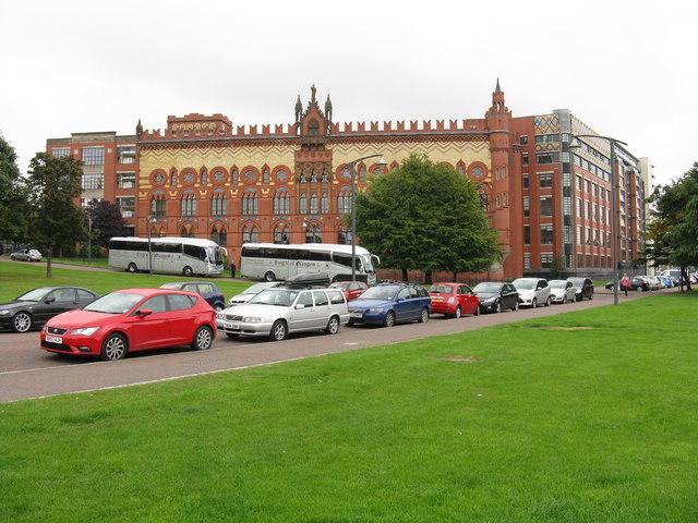 Templeton's carpet factory, Glasgow Green