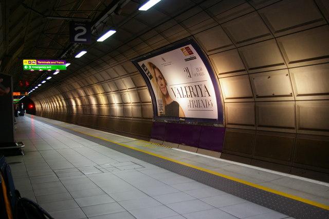 Heathrow Terminals 1, 2 & 3 station