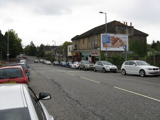 Milngavie Road, Hillfoot
