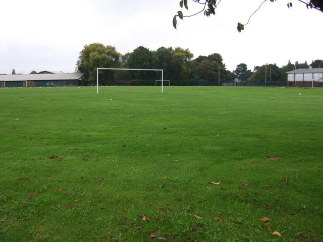 School playing fields off Queensway