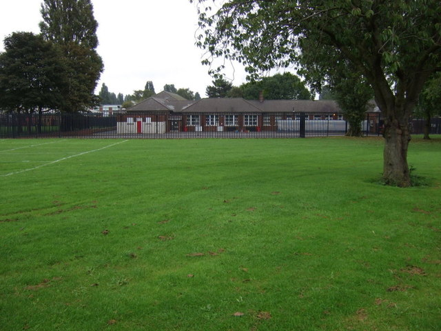 School playing fields off Queensway