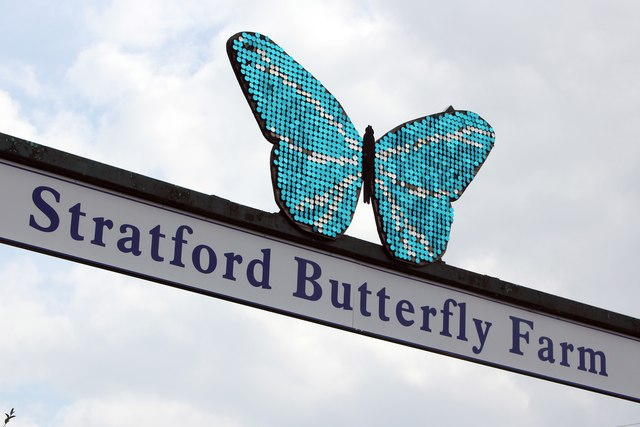 Sign of Stratford-upon-Avon Butterfly Farm