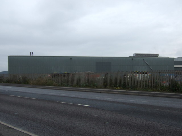 Part of the steelworks