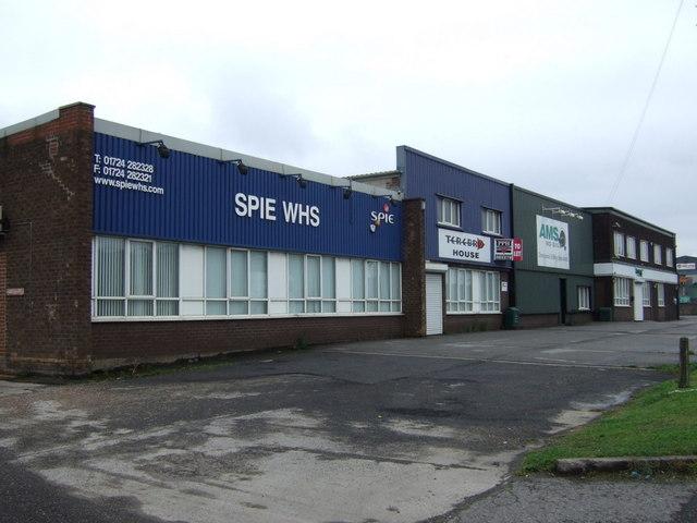 Industrial unite off Brigg Road