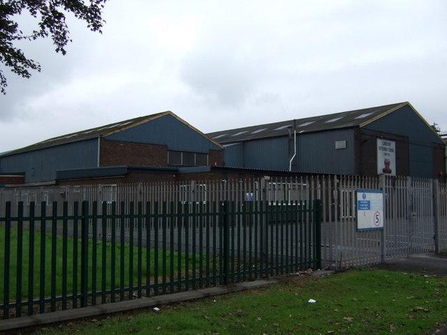 Industrial site off Brigg Road