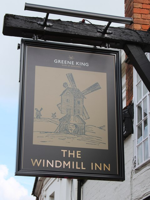The Windmill Inn sign