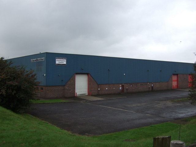 Distribution centre off Brigg Road