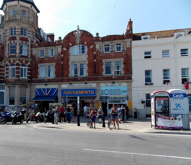 Royal Arcade, Weymouth